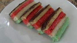Venetians Tri-Color Cookies