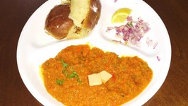 Daal Bhaji Pav Video Recipe by Bhavna  Make your Kids eat more Veggies and Lentils