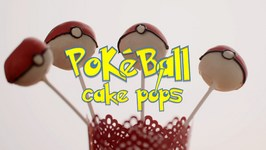 PokeBall Cake Pops - Yummilicious Recipe