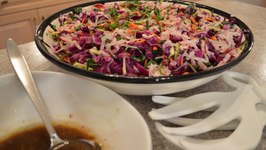 How to Make Asian Style Cabbage Salad