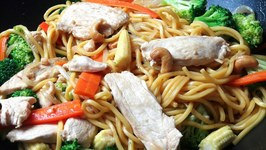 Chicken With Cashew Nuts Stir Fry