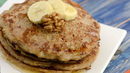 Banana Walnut Pancakes (Pregnancy)