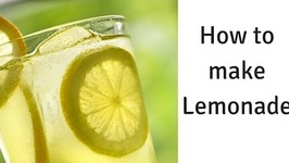How to Make Lemonade - Homemade Lemonade