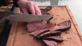 How To Grill a 3 inch Cowboy Steak - Grillin Magic Steak Rub