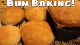 Making Hamburger Buns