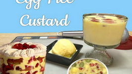 Egg Free Vanilla Custard Pudding