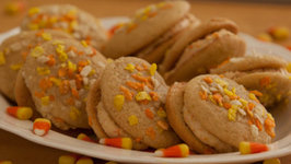 Candy Corn Whoopie Pie