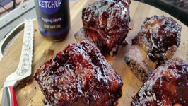 Slow Smoked Beef Short Ribs - Featuring NotKetchup Dipping Sauce