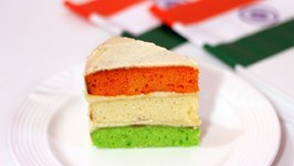 Tri Color Cake Indian Independence Day Special 15th August