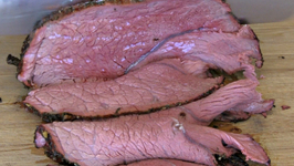 Savory Beef Chuck Cross Rib Roast slow cooked on the Yoder YS640 Pellet Cooker