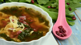 Rajma and Spinach Soup