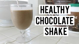 Healthy Gluten Free Chocolate Shake Recipe