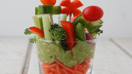 Veggie Garden Cups - Healthy Snacks for Kids