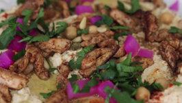 Chicken Shawarma Hummus - Crowd Pleasing Dip