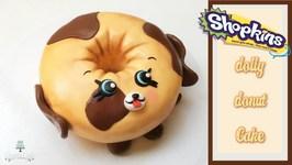 Shopkins/Petkins Dolly Donut Cake