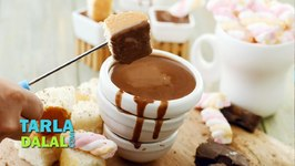 Classic Chocolate Fondue, Recipe In Hindi