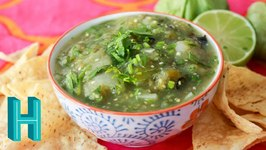 Salsa Verde - Tomatillo Salsa