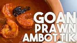 PRAWN Ambot Tik - Goan CURRY With SUCCORINE Bai
