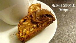 Nutella Biscotti  (Can Be Made Gluten Free)