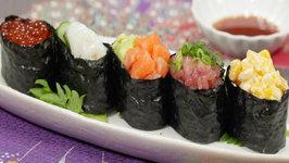 Gunkanmaki (Gunkan Sushi)