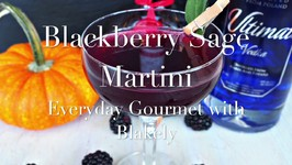 Cocktail Recipe: Blackberry Sage Martini