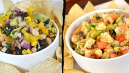 Shrimp Salsa Recipe Black and White Bean Salsa Recipe