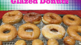 Glazed Donuts - Eggless Baking Recipe