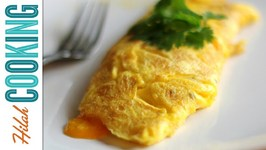 How To Make An Omelet - Easy Cheesy Omelet