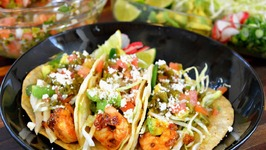 Grilled Chipotle Shrimp Tacos Recipe Vegetarian Option Included