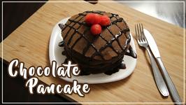 Chocolate Pancake  Eggless Pancake Recipe  Ruchi's Kitchen