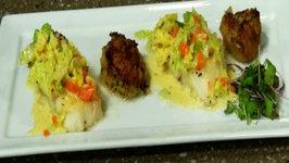 Chilean Sea Bass and Potato Lyonnaise