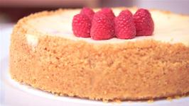 How To Make A Raspberry And Yoghurt Cheesecake