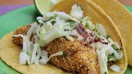 Fish Tacos- Tacos De Pescado