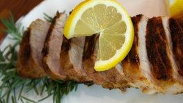 Lemon-Rosemary Pork Tenderloin