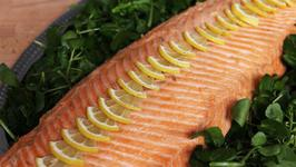 Poached Whole Salmon Recipe