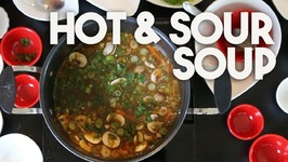 HOT And SOUR Soup - An Indo CHINESE Favourite