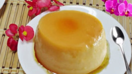Fast Flan  - Homemade Caramel Custard or Cream Custard