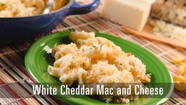 90 Second White Cheddar Mac And Cheese