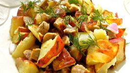 Roasted Red Potato Salad with Chicken Sausage