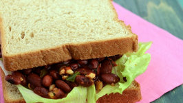 Rajma and Paneer Sandwich (Healthy Snack for Kids)