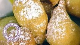Beignets d'ananas caramélisés au rhum