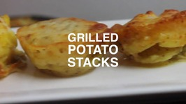 Grilled Potato Stacks