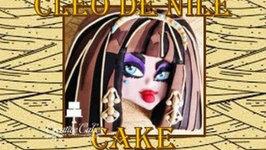 Monster High Cake Cleo De Nile - How to Make