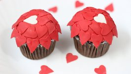 Little Hearts Chocolate Cupcakes  Valentine's Day Special