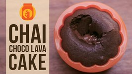 Choco Lava Cake With A touch of Chai - Easy Chocolate Recipes