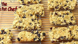 Home Made Muesli Bars  One Pot Chef