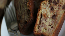 Banana Bread - With Chocolate Chips