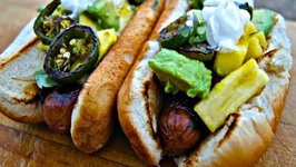 Mexican Street Dog - Sonoran Hot Dogs My Way