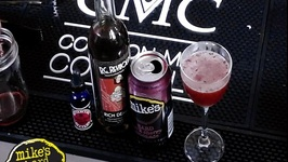 Black Cherry Daiquiri With Mike's Hard Black Cherry Lemonade
