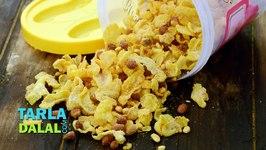 Corn flakes Chivda (Diwali Dry Snack)